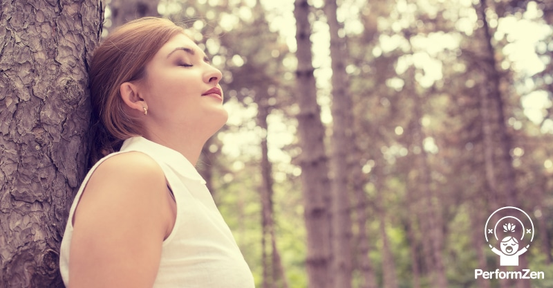 Belly Breathing (sometimes called 'tactical breathing') to help overcome performance anxiety