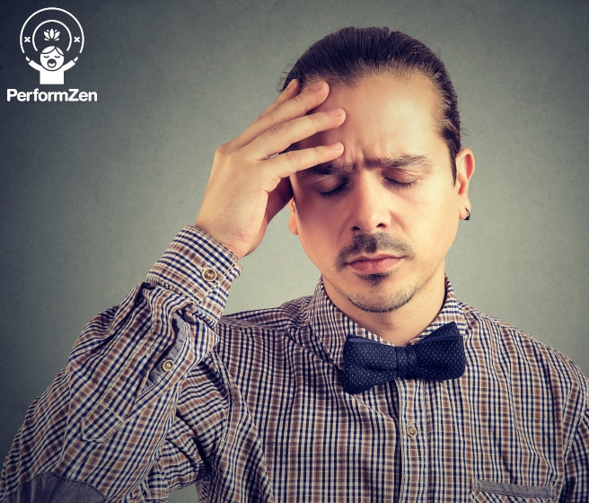How negative thinking affects Performance Anxiety