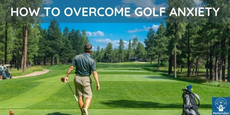 How to overcome golf anxiety